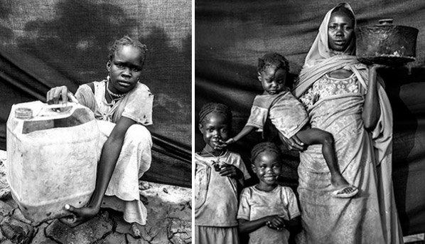 Série de fotos mostra refugiados e os objetos mais importantes de suas vidas