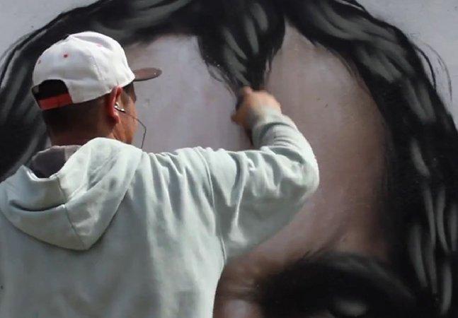 Conheça a arte do grafiteiro brasileiro Sipros