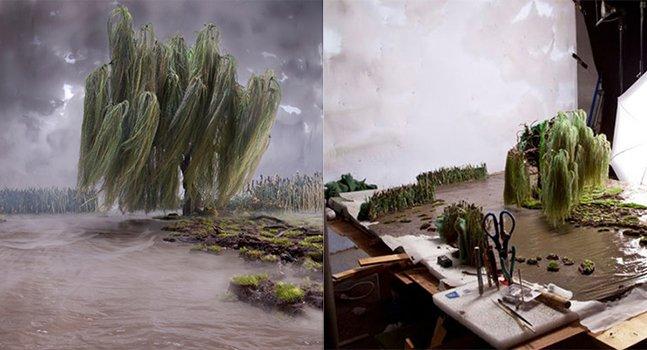 Fotógrafo retrata maquetes que você poderia jurar que fossem paisagens reais
