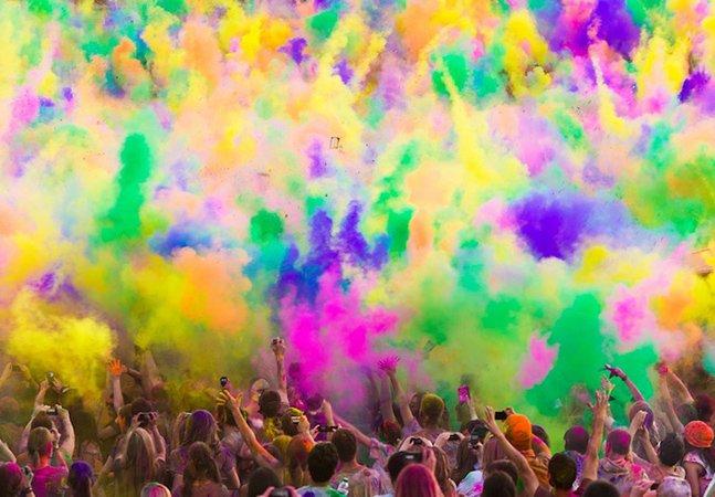 Veja as imagens do Holi 2013, o festival mais colorido do mundo