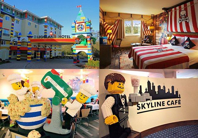 Hotel de Lego usa mais de 3 milhões de peças pra fazer fantásticas esculturas