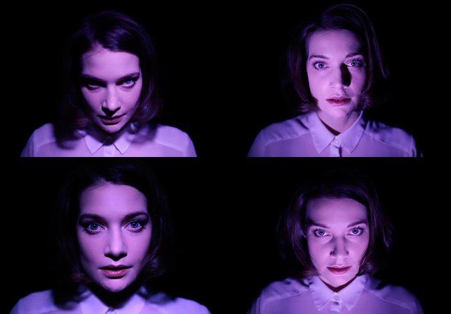 Vídeo mostra a mudança que a luz faz no rosto de uma pessoa