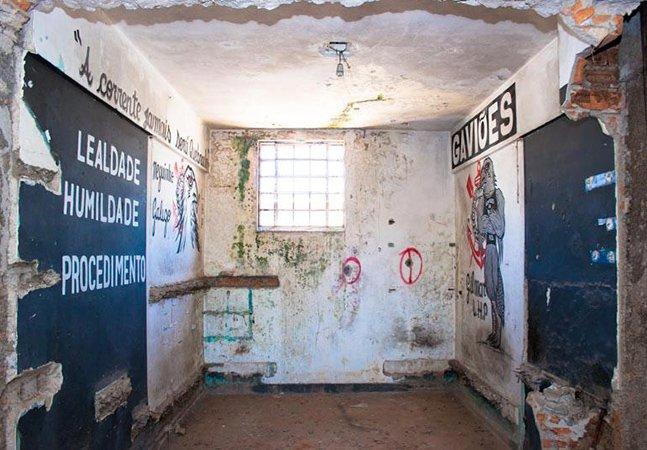Série de fotos registra a arte nas paredesdo Carandiru antes de sua demolição