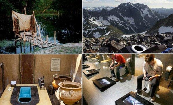 Projeto fotográfico revela banheiros pelomundo e evidencia diferenças culturais