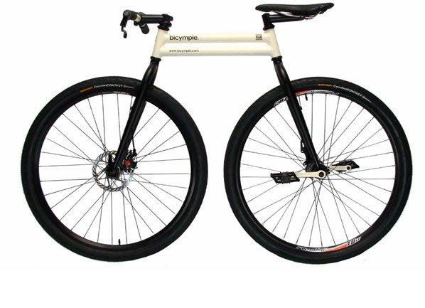 Conheça a Bicymple, a bicicleta simplificada que dispensa corrente