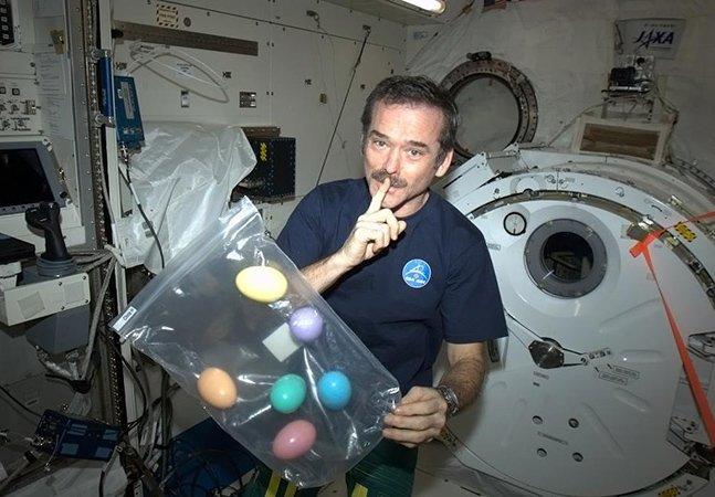 Astronauta usa redes sociais para mostrar cotidiano no espaço