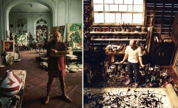 Conheça o local de trabalho de 15 dos maiores gênios da arte