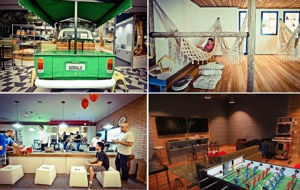 Novo escritório do Google Brasil tem decoração inspirada em bairros de SP