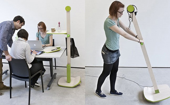 """O """"escritório"""" dinâmico e flexível que pode ser transportado pra qualquer lugar"""