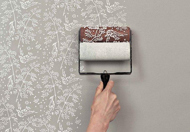 Rolos de pintura com padrões – a forma inovadora de decorar a sua casa