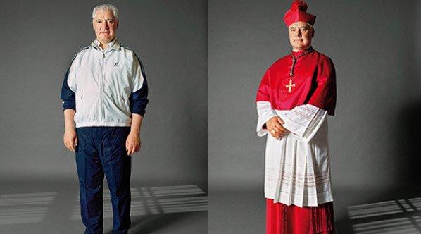 Fotógrafa retrata a diferença que uma roupa pode fazer com uma pessoa