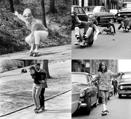 Série de fotos recorda nascimento do skate durante a década de 60