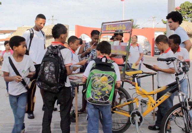 Bibliocicleta – a bicicleta que leva livros para comunidades carentes
