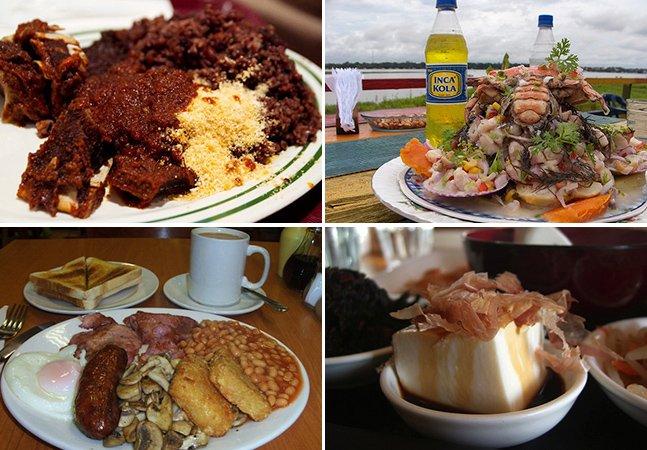 Viajante registra as diferenças nos  cafés da manhã ao redor do mundo
