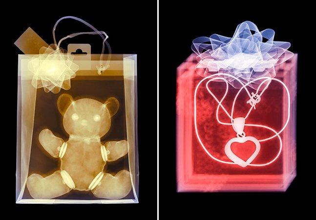 Ensaio fotográfico inovador mostra o raio-X dos presentes