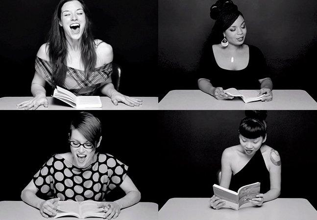 Série de vídeos mostra mulheres lendo e atingindo orgasmos