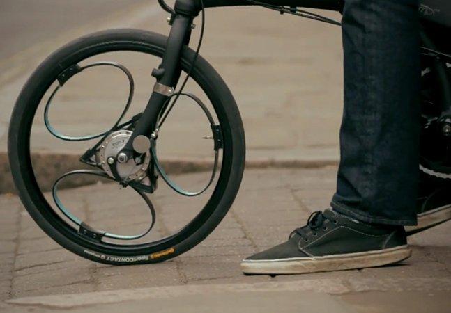 Conheça as rodas inovadoras para bicicleta que já vem com suspensão