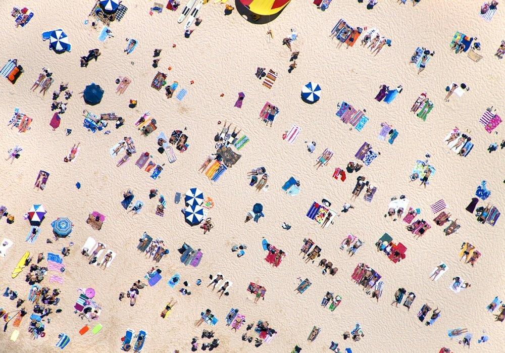 Série de fotos aéreas mostra praias ao redor do mundo e suas peculiaridades