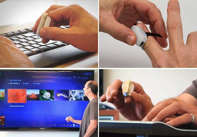 Conheça o anel que é a evolução do mouse