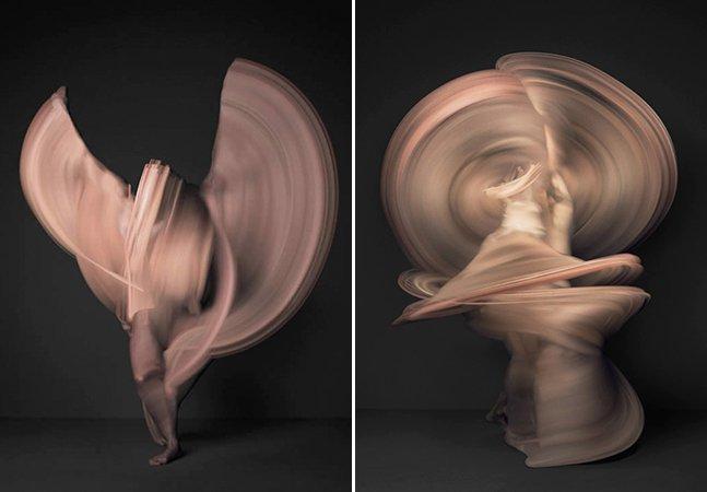 Ensaio fotográfico retrata dançarinas como você nunca viu