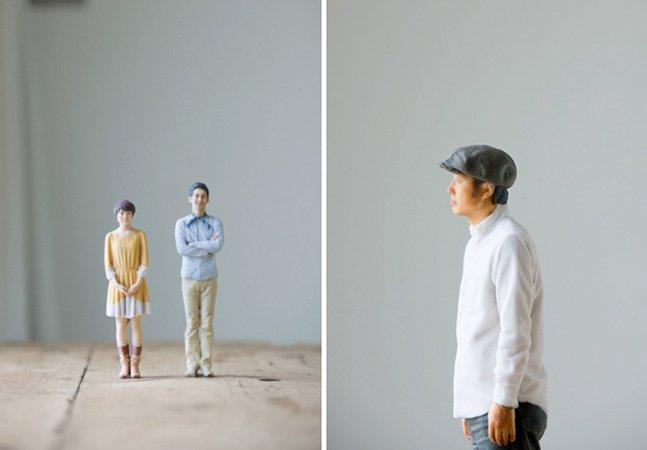 A cabine de fotos que imprime miniaturas em 3D, ao invés de fotografias