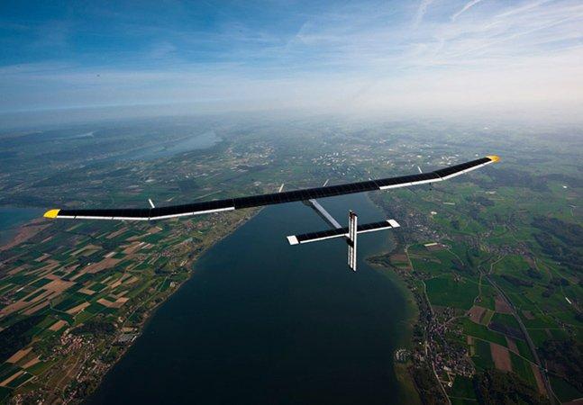 Conheça o avião movido à energia solar que já é realidade