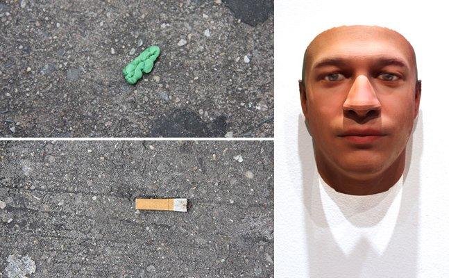 Ela recria rostos com DNA encontrado em bitucas de cigarro e chicletes