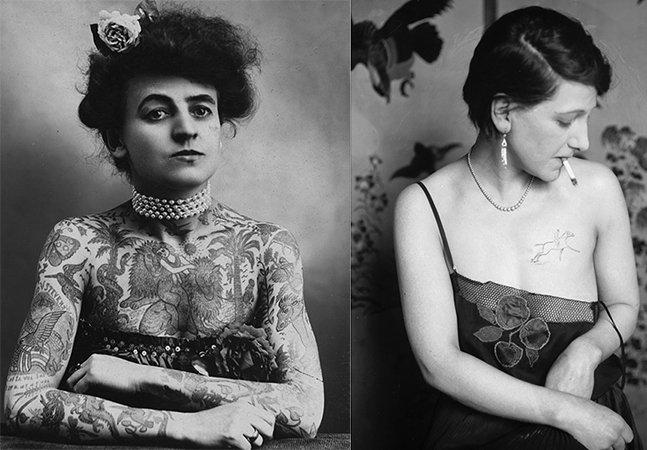 Como eram as mulheres tatuadas do início do século XX<!--:en-->How tattooed women looked like in the early 20th century