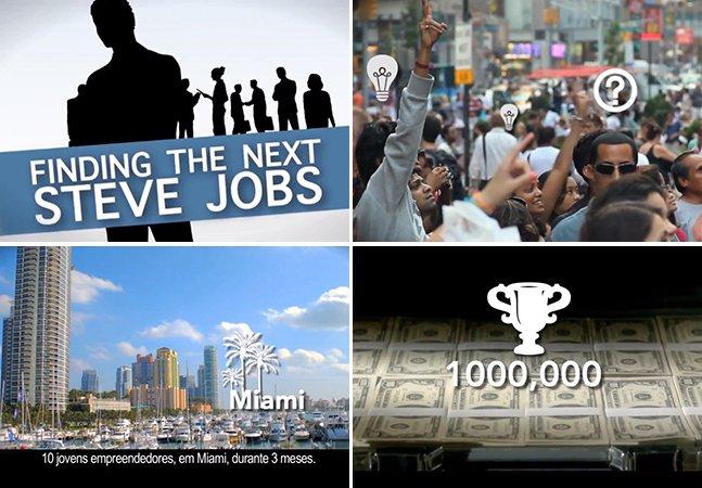 Concurso, com prêmio de U$ 1 milhão, pretende encontrar o próximo Steve Jobs