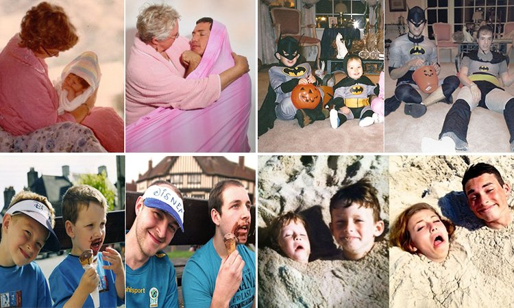 Projeto fotográfico capta o antes e depois de diferentes pessoas