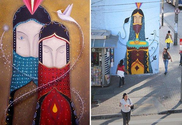 Conheça o grafite inspirador do brasileiro Binho Martins