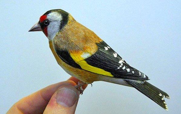Artista cria pássaros de papel que você poderia jurar que fossem reais