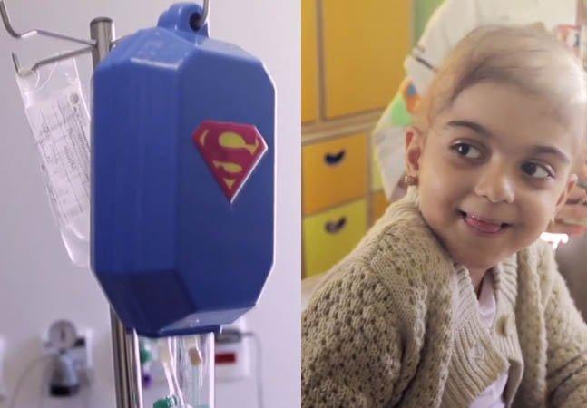 Crianças contam com ajuda de super-heróis pra lutar contra o câncer