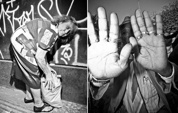 Fotógrafo brasileiro retrata de perto estranhos nas ruas de São Paulo