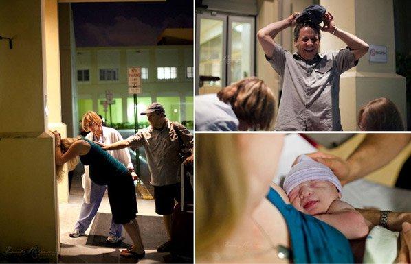 As imagens mais emocionantes que você já viu do nascimento de um bebê