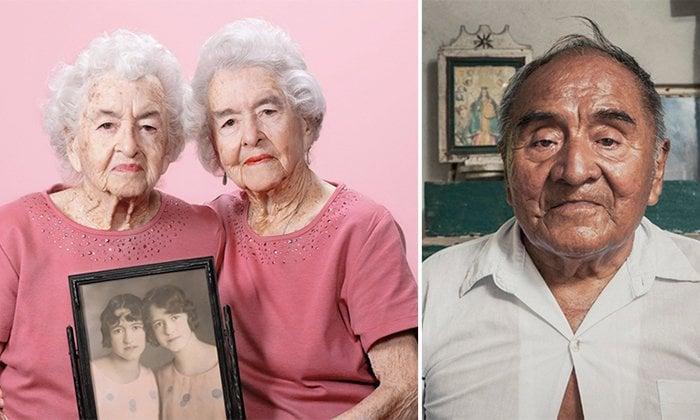 Projeto fotográfico retrata pessoas com mais de 100 anos e suas histórias