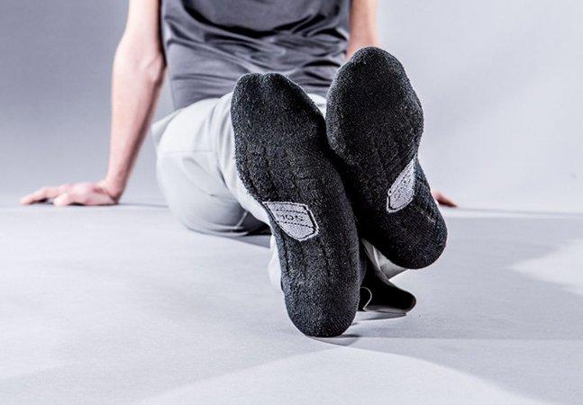 A reinvenção da meia que promete eliminar para sempre o chulé