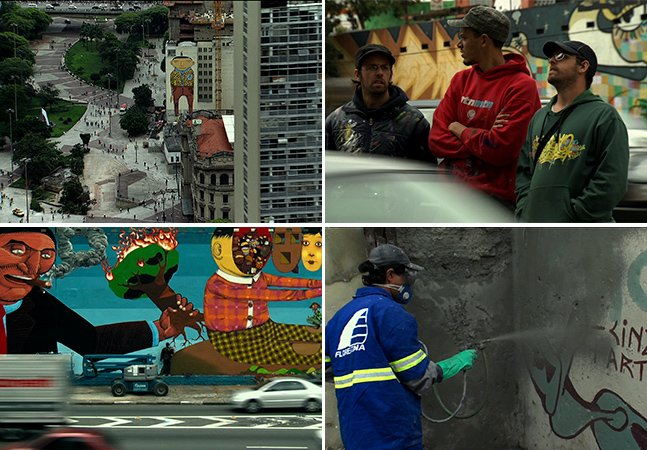 Documentário mostra o grafite brasileiro na luta contra uma SP cinza