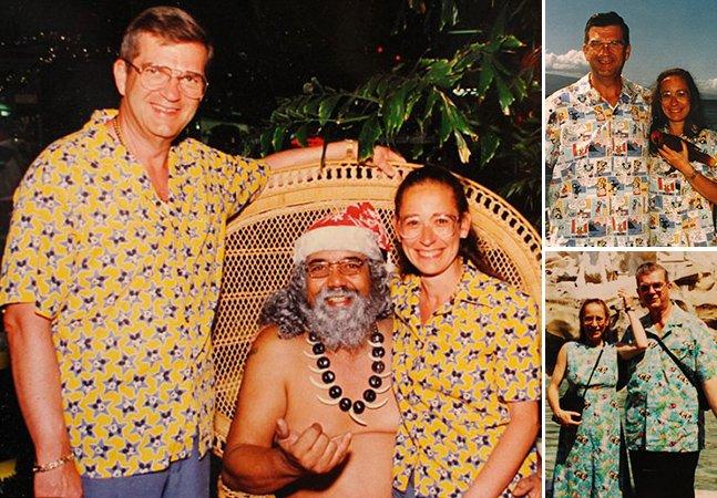 Conheça o casal que combina roupas todos os dias há 32 anos