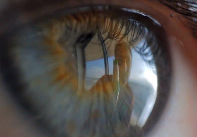 Banda grava clipe inteiro através do reflexo dos olhos de um espectador