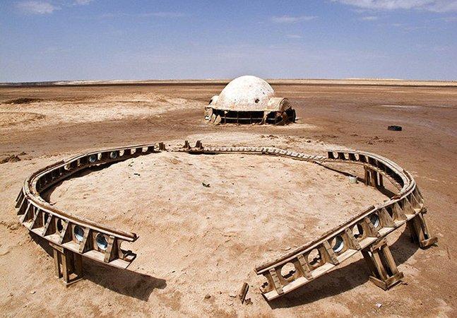 Série de fotos fantástica mostra cenários abandonados de Star Wars
