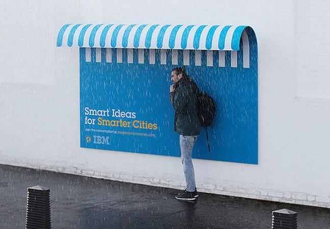 Campanha publicitária cria intervenções criativas pra melhorar a vida na cidade