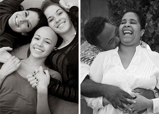 Projeto comovente registra pacientes terminais em momentos felizes em família