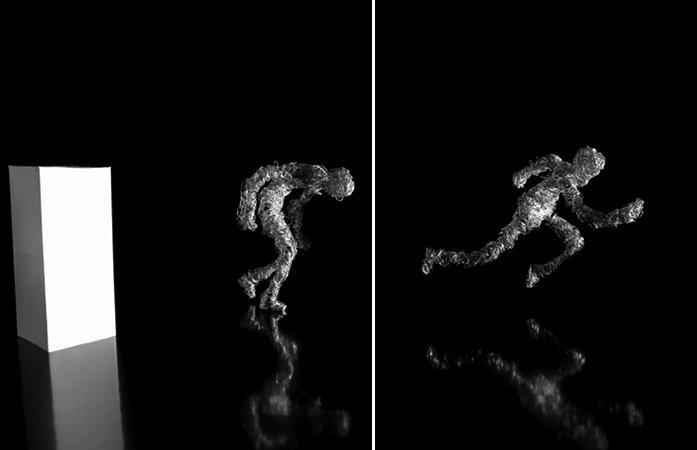 Usando apenas arame e papel, artista cria stopmotion fantástico
