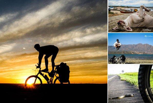 2 1/2 anos e 17 países – conheça o homem que vai viajar o mundo de bike