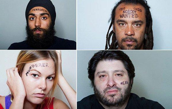 Projeto fotográfico mostra pessoas  expondo suas maiores inseguranças