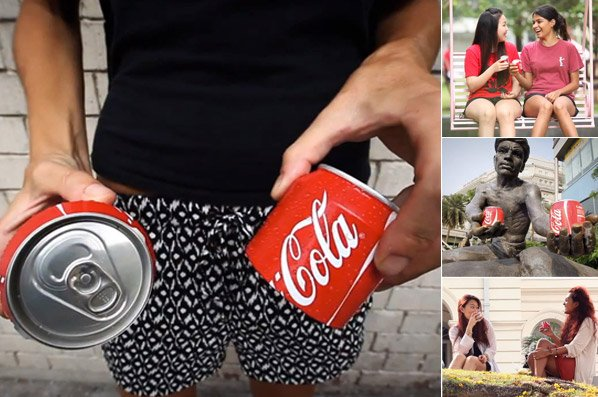 Coca-Cola lança latinha que pode ser compartilhada com amigos
