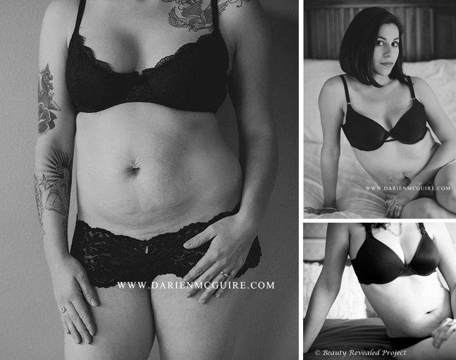 Série fotográfica revela corpo de mulheres reais depois de terem filhos