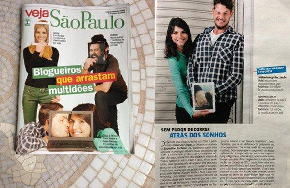 O Hypeness na capa da Revista Veja São Paulo dessa semana