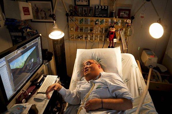 Internado há mais de 40 anos, paciente cria série de animação dentro do hospital